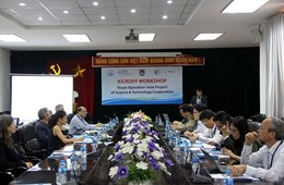 Kickoff Workshop for the Viwat-Operation Project coordinated by VNU University of Science