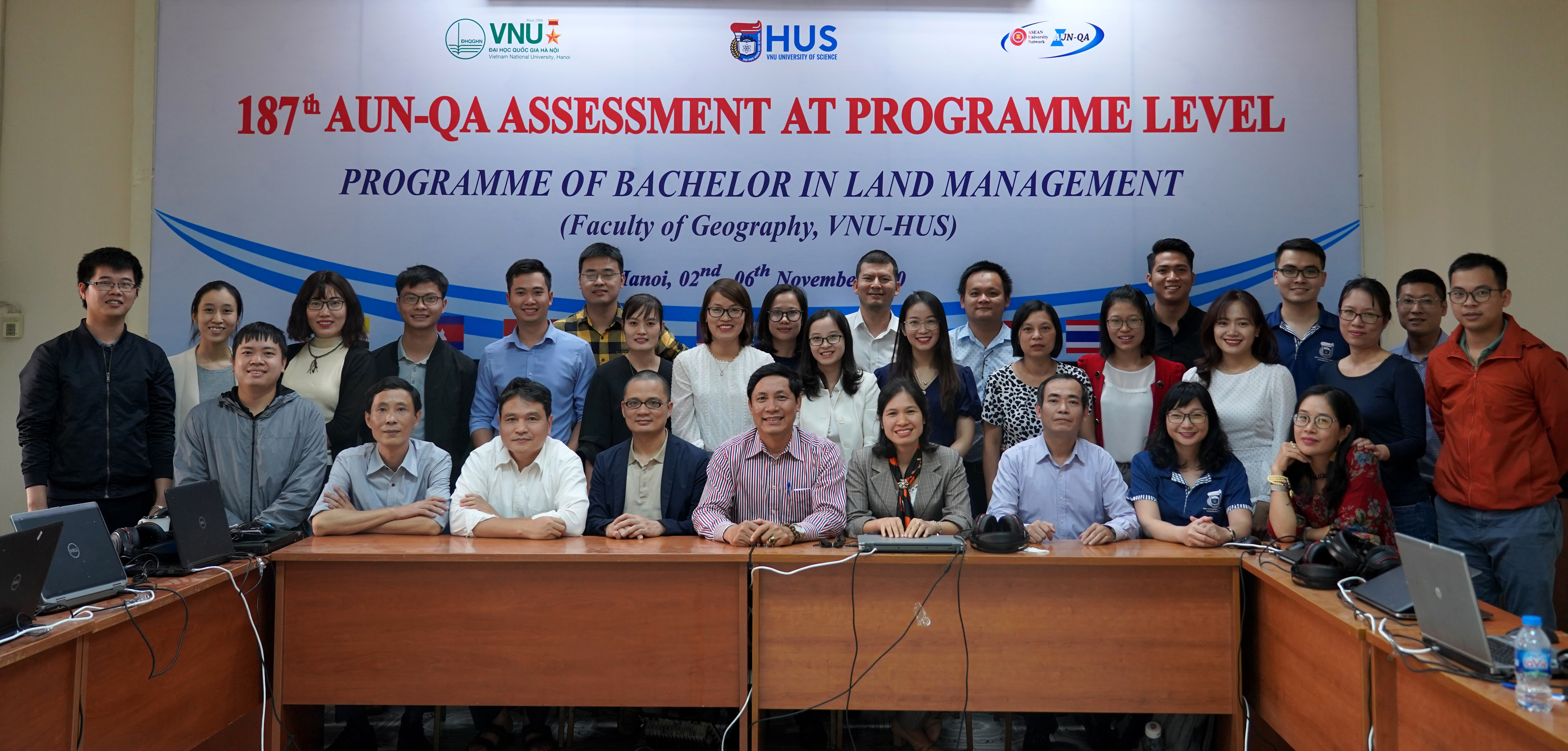 AUN-QA assessment at program level for VNU-HUS has completed